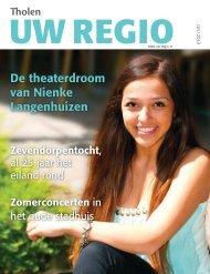 De theaterdroom van Nienke Langenhuizen - Uw Regio
