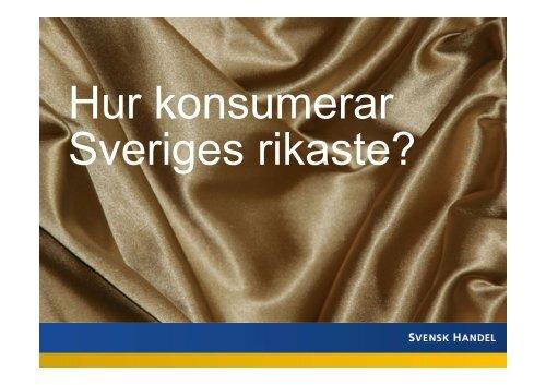 Rapport lyxkonsumtion.pdf - Svensk Handel