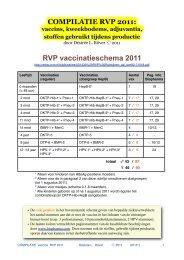 RVP vaccinatieschema 2011 - Verontruste Moeders