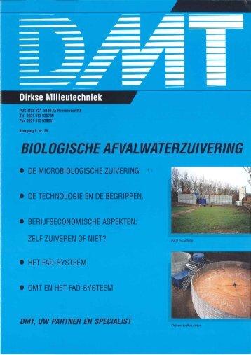 Biologische Afvalwaterzuivering - Dirkse Milieutechniek