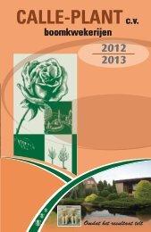 Download hier onze catalogus - calle - plant cv