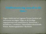 Totalförsvarets dag för åk 7 2009-08-20