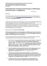 Läkemedelsverkets utredning om förskrivningen av ADHD-drogen ...