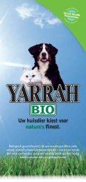 Yarrah Biologische Hondenvoeding - Webkey