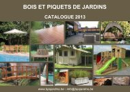 BOIS ET PIQUETS DE JARDINS - BPS jardins