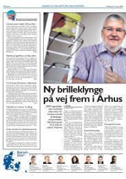 Ny brilleklynge på vej frem i Århus - Kaastrup-Andersen A/S