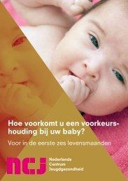 JGZ-richtlijn Voorkeurshouding en schedelvervorming ... - NCj