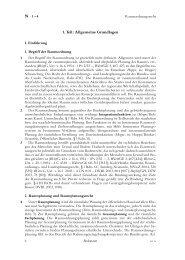 1. Teil: Allgemeine Grundlagen - Handbuch des öffentlichen Baurechts