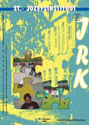 JRK - november 2006 in PDF - Sint-Jozef Ternat
