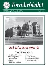 God Jul & Gott Nytt År - Torreby GK