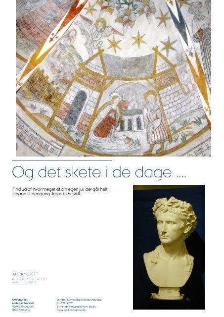 Og Det Skete I De Dage Antikmuseet Aarhus Universitet