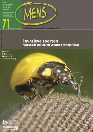 Invasieve soorten - Biodiversiteit in de klas