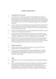 ALGEMENE VOORWAARDEN ENICON 1 ... - JM Concepten