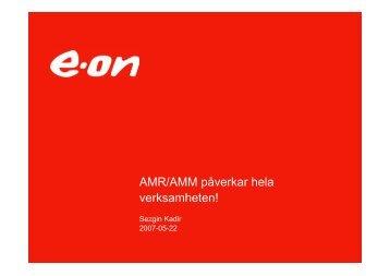 AMR/AMM påverkar hela verksamheten! - Svensk Energi