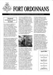 Ordonnans 32 – april 2004 - Fort aan den Hoek van Holland