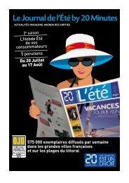 Le Journal de l'Été by 20 Minutes - 20 Minutes Média