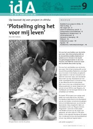 idA oktober 2012 - Verenigde Doopsgezinde Gemeente Amsterdam