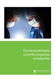 Tervishoiutöötajate statistika kogumise uuendamine