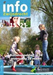 Buitenspeeldag, p.18 woensdag 28 maart - Gemeente Zwijndrecht