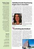 SEN Nieuwsbrief - Voorjaar 2013 - Somatic Experiencing - Page 4