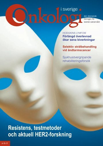 Nr 6 2011 - Onkologi i Sverige