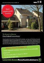 Te Koop in Borne Geschakeld woonhuis - Leverink+Assen ...