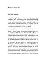 Aura, Reproduktion und Schock 2. Baseler Vorlesung Meine Damen ...