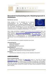 nr. 16 - maart 2013 - KienhuisHoving advocaten en notarissen