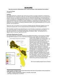 Bonaire, een geologische verkenningstocht door Nationaal Park ...