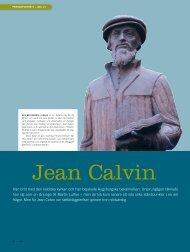 Jean calvin - Till Liv