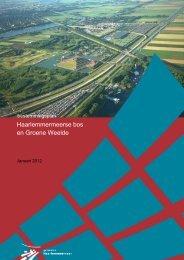 Haarlemmermeerse bos en Groene Weelde - Gemeente ...