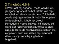 2 Timoteüs 4:6-8