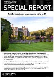 Tjolöholms Slott - Infracontrol