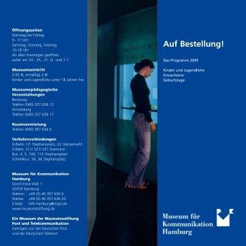 Auf Bestellung! - Museumsstiftung Post und Telekommunikation