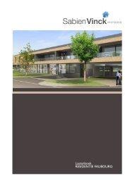 Lastenboek RESIDENTIE FAUBOURG - vinckvastgoed