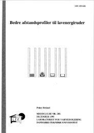 Bedre afstandsprofiler til lavenergiruder - Viden Om Vinduer