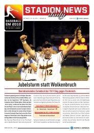 20100728 Ausgabe 06 - Baseball-Em 2010