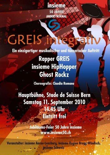 insieme insieme HipHopper Ghost Rockz - Claudia Romano