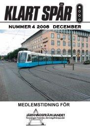 December nr 4 2008 - Järnvägsfrämjandet