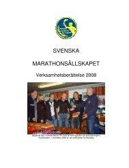 Svenska Marathonsällskapet grundades 1952 med syfte att