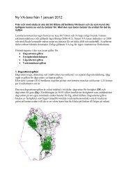 Ny VA-taxa från 1 januari 2012 - Lomma kommun