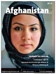 Läs hela tidningen som pdf här - Svenska Afghanistankommittén