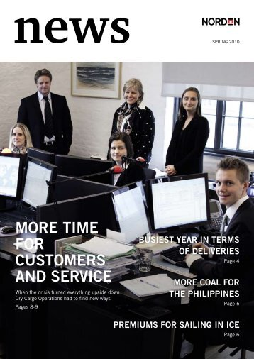 more time for customers and service - Dampskibsselskabet ...
