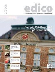 Pampig Petribyggnad på pränt, sid 8-9 - Malmö stad