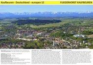 Kaufbeuren - Deutschland - europan 12 FLIEGERHORST ...