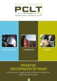 oPleidingen oP maat Praktijk - PCLT