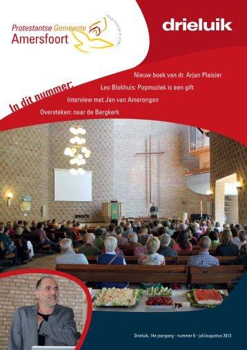 Drieluik van juli/aug 2013 - Kerkplein Amersfoort
