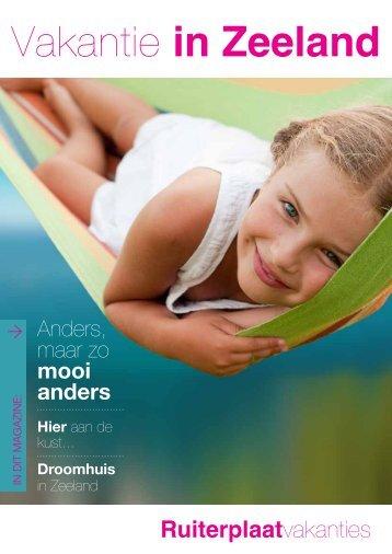 De Ruiterplaat brochure 2013