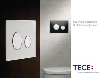 TECE bedieningsplaten toilet - ML Interior Design