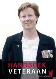 Handboek Veteraan 2011 - Welkom - Veteraneninstituut